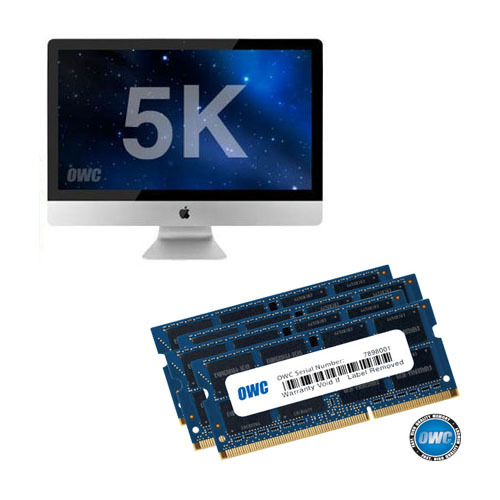 OWC Memory 32GB(16GBx2) Kit for 2019~2020 5K iMac (32G DDR4-21300 2666MHz SO-DIMM, 2019~2020년 신형 5K 아이맥용 램)